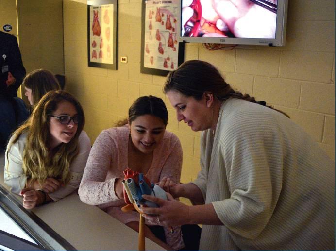 Monessen students observe live heart surgery procedure - Mon