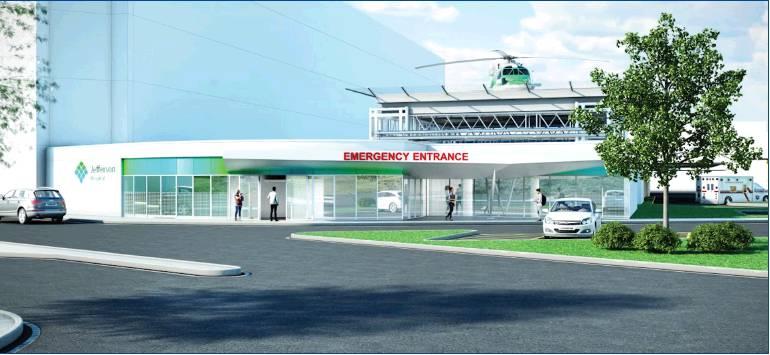 Jefferson undertakes major ER upgrade - Mon Valley