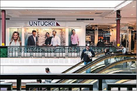 Clicks-to-bricks': Online brands see benefits of malls - The