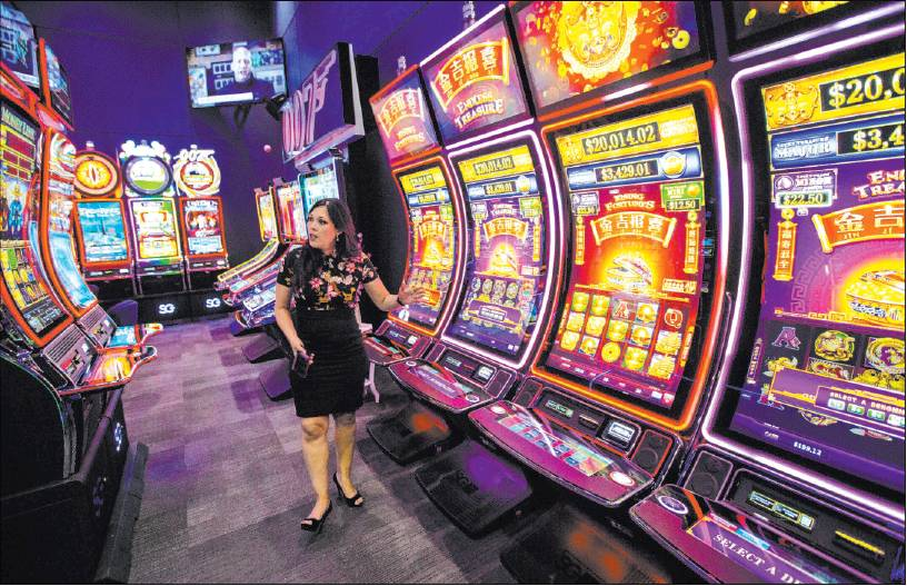 From the Las Vegas Review-Journal, 5/26/2019: Putting a new spin on slots