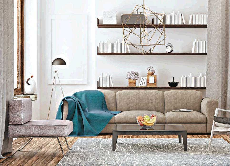 metals in your home decoration