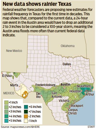 FEDS UPDATE DATA FOR WETTER TEXAS - Austin American ...
