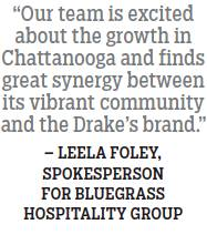 Drakes Headed To Waterside Chattanooga 8292018