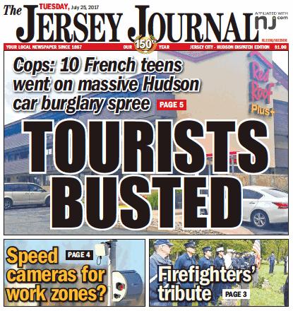 The Jersey Journal, Todays Headline